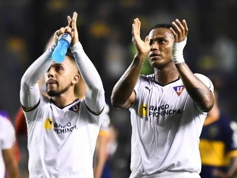 Grande de Brasil va a la carga por Antonio Valencia