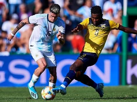 Árbitros confirmados para los partidos de Ecuador ante Argentina y Uruguay
