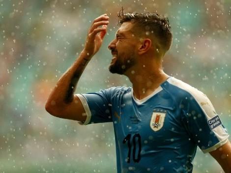 De Arrascaeta, otra baja en Uruguay contra Ecuador