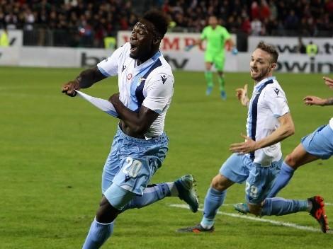 A los 97 minutos, Caicedo le dio la victoria a Lazio contra Torino