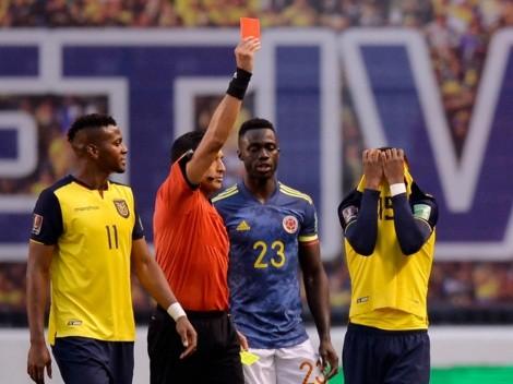 """Plata pidió perdón por su expulsión vs. Colombia: """"Disculpas de corazón"""""""