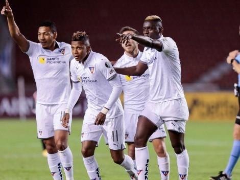 Liga de Quito, con un alta y dos bajas para enfrentar a IDV