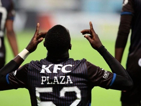 Stiven Plaza apura su salida de Trabzonspor