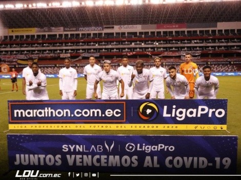 Oficial: Titular de Liga de Quito deja el club