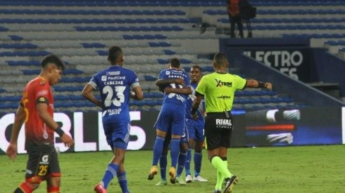 (VIDEO) Emelec arranca con goleada la LigaPro 2021