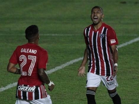Dos años después: (VIDEO) Joao Rojas marca nuevamente con el Sao Paulo