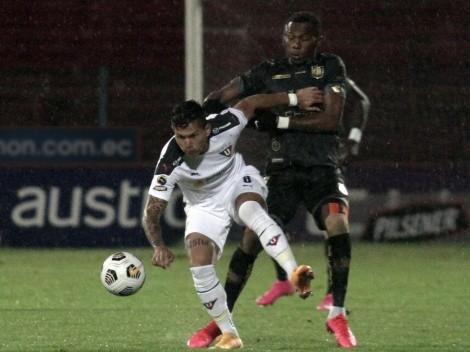 Deportivo Cuenca y Liga de Quito empataron en un partidazo