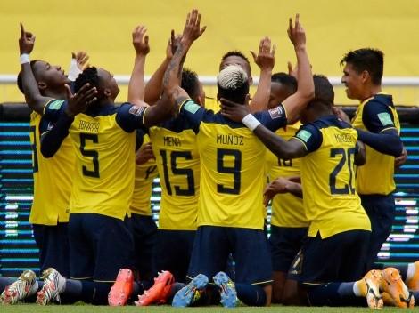Selección Ecuador: el abrazo entre Noboa y Damián Díaz que se hizo viral