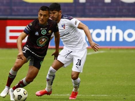 Liga de Quito no pudo derribar a Mushuc Runa y debió conformarse con un empate