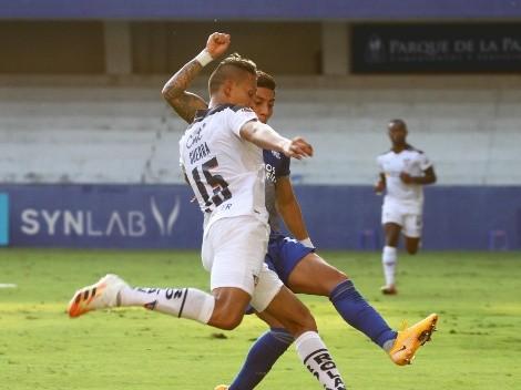 Emelec y Liga de Quito repartieron puntos en un partido de alto voltaje