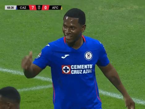 (VIDEO) Brayan Angulo vuelve a marcar con el Cruz Azul