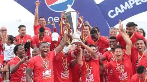 Liga de Quito ganó la primera edición de la Copa Ecuador