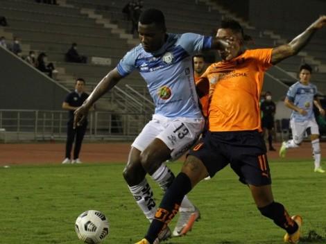 Liga de Quito se recuperó y rescató un punto ante Guayaquil City