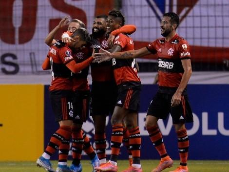 Liga no pudo y cayó ante el temible Flamengo en Quito