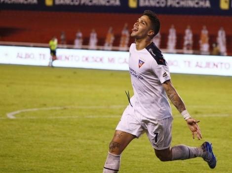 Liga no pasa un buen momento y Luis Amarilla mandó un mensaje a Pablo Repetto