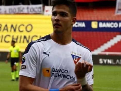 En Liga de Quito hablan del futuro de Luis Amarilla