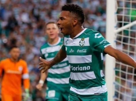 (VIDEO) Ayrton Preciado fue figura en Santos Laguna con un gol y una gran asistencia