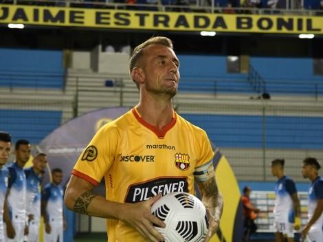 ¿Convencerá a Gustavo Alfaro? Damián Díaz fue figura y recibió un reconocimiento de la CONMEBOL