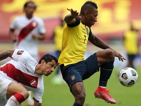 ¿El peor en el partido de Ecuador? Pervis Estupiñán perdió 23 balones contra Perú