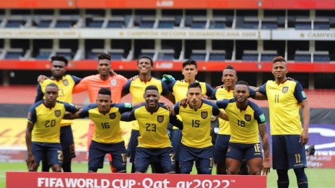 Los 11 titulares contra Perú. Foto: @LaTri