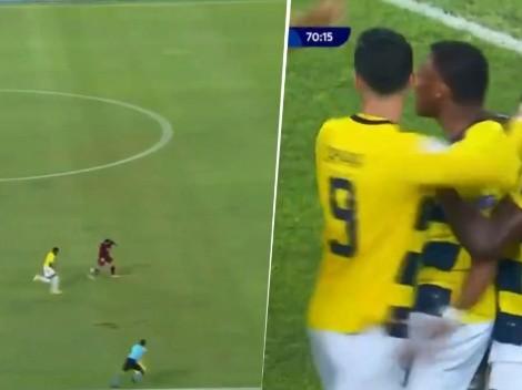 Quién te conoce, Mbappé: el golazo de Plata para el 2-1 de Ecuador