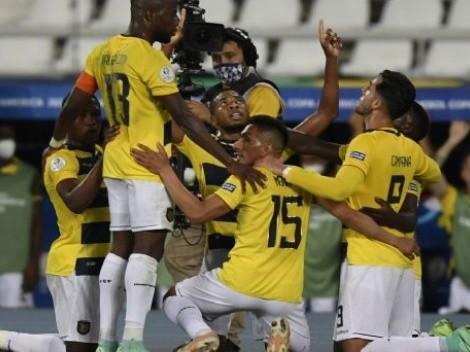 Otra mala: Ecuador salió con dos titulares en capilla pensando en Brasil