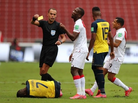 Ecuador ya conoce los árbitros para el partido frente a Perú por la Copa América