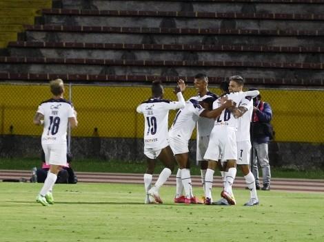¿Repetirá en la final?: El cambio táctico que tuvo Liga de Quito vs. Delfín SC