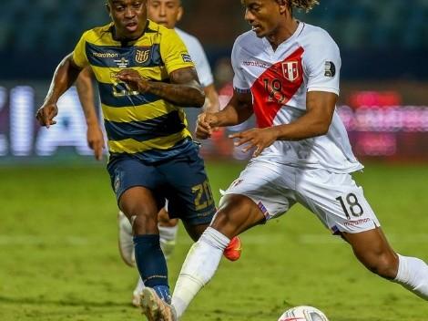 Tras ir ganando: Ecuador tropieza ante Perú y se complica en Copa América