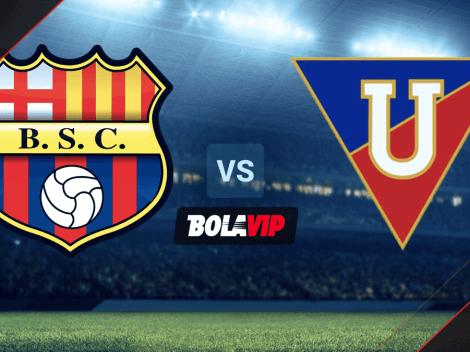 VER HOY Barcelona SC vs. Liga de Quito por la Supercopa de Ecuador   A qué hora y qué canal transmite la FINAL
