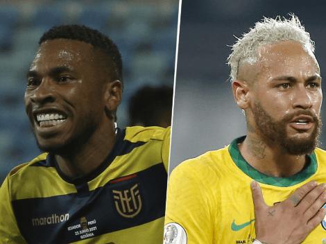 Ecuador igualó ante Brasil por 1-1: se clasificó a los cuartos de final de la Copa América 2021