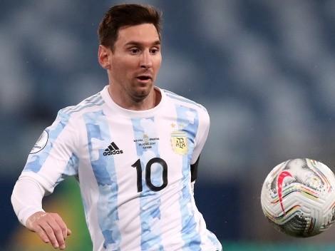 Con Messi al frente: Argentina alista once para enfrentar a Ecuador