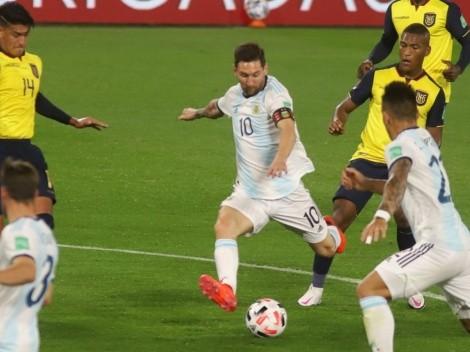 ¿Cuánto han cambiado?: Ecuador - Argentina, alineaciones de Eliminatorias vs. Copa América