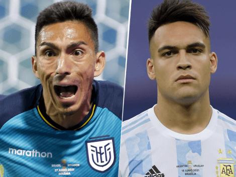 EN VIVO: Ecuador vs. Argentina por Copa América