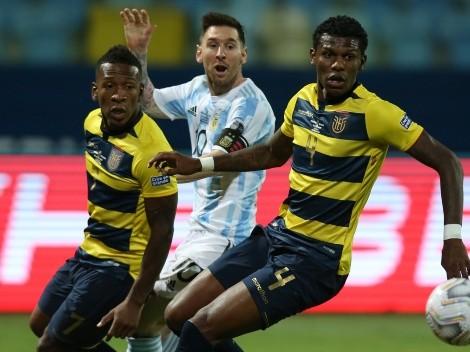 Las palabras de Scaloni y Messi para la selección de Ecuador