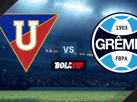 Liga de Quito vs. Gremio: ¿cuándo y a qué hora ver EN DIRECTO el duelo por Copa Sudamericana?