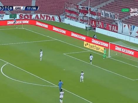 (VIDEO) La insólita jugada que terminó en el 1-0 de Gremio frente a Liga de Quito