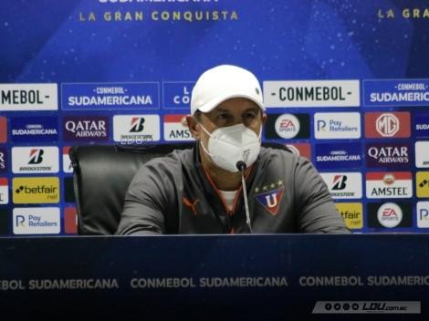 """""""Gremio fue muy mezquino"""" Pablo Marini tras la derrota de Liga de Quito frente a Gremio"""