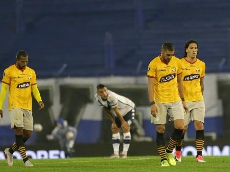 Barcelona SC perdió frente a Vélez y debe ganar para seguir en la Copa Libertadores