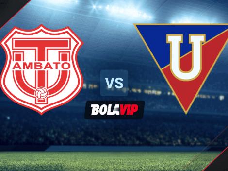 Qué canal transmite Técnico Universitario vs. Liga de Quito por la LigaPro