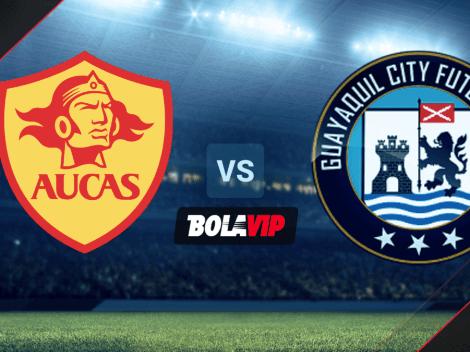 CÓMO VER EN VIVO Y EN DIRECTO | Aucas vs. Guayaquil City por la LigaPro