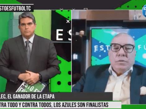 "(VIDEO) Vito Muñoz criticó a Barcelona SC': ""En esos 45 minutos perdió la etapa"""