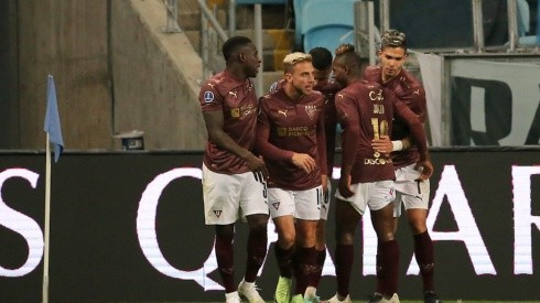 Gremio v Liga Deportiva Universitaria - Copa CONMEBOL Sudamericana 2021 (Foto: 2021 Pool, Getty Images South America)