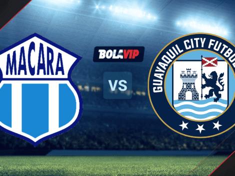 EN VIVO: Macará vs. Guayaquil City por la LigaPro