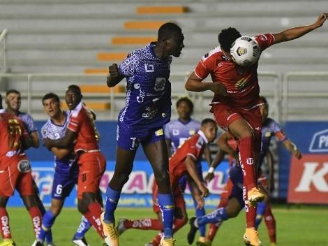 Delfín y Técnico Universitario empataron en el último partido de la fecha
