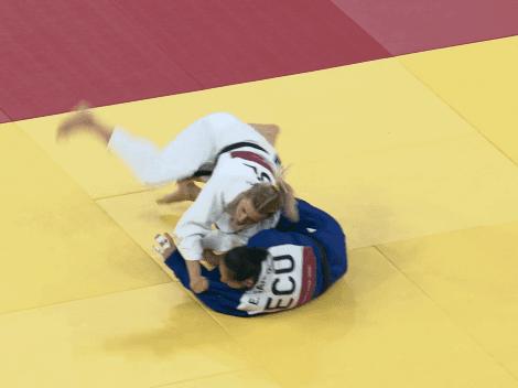Estefanía García termina su participación en los Juegos Olímpicos de Tokio
