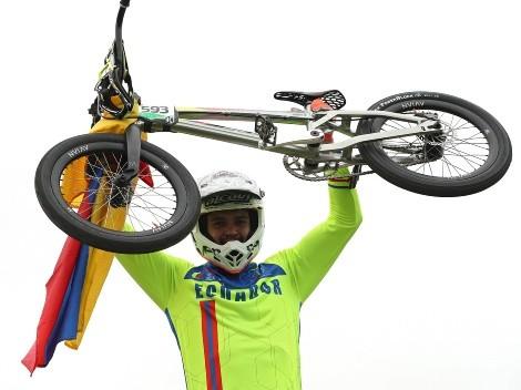 Se acerca al podio: Alfredo Campo, a las semifinales de BMX