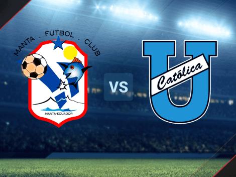 Cómo seguir el encuentro de Manta vs. Universidad Católica por LigaPro: día, hora y canal de TV para ver el partido EN VIVO