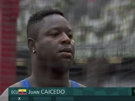 Juan Caicedo termina su histórica participación en los Juegos Olímpicos