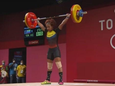 """""""Sé que se me escapó la medalla de las manos"""", afirma Angie Palacios"""
